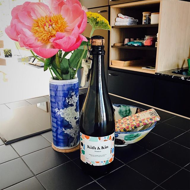 Welcome @iescapehotels and thanks for visting us! #amsterdam #boutiqueapartments #proseccoonthehouse