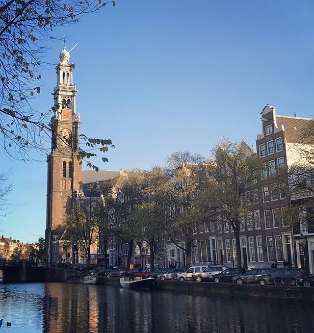 Good morning! #westertoren #prinsengracht #amsterdam