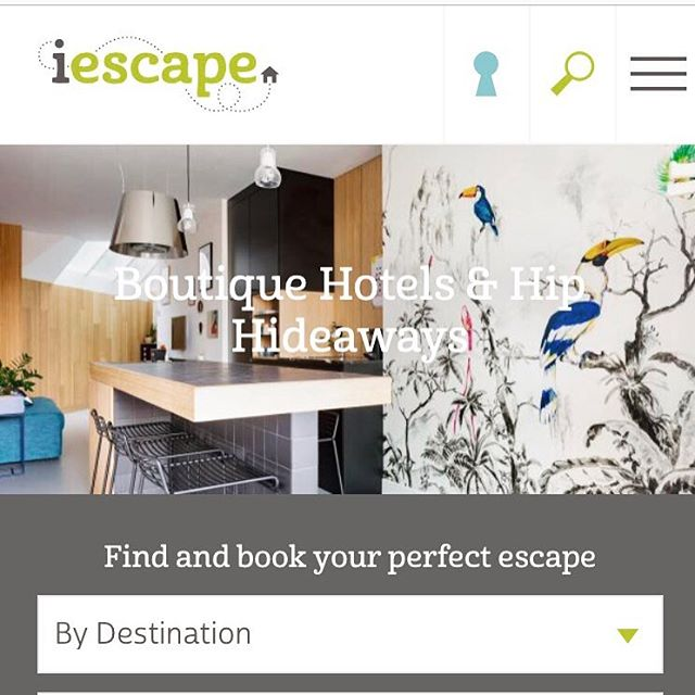 Proud to be featured @iescapehotels and @iescapewithkids ! #boutiquehotels #amsterdam