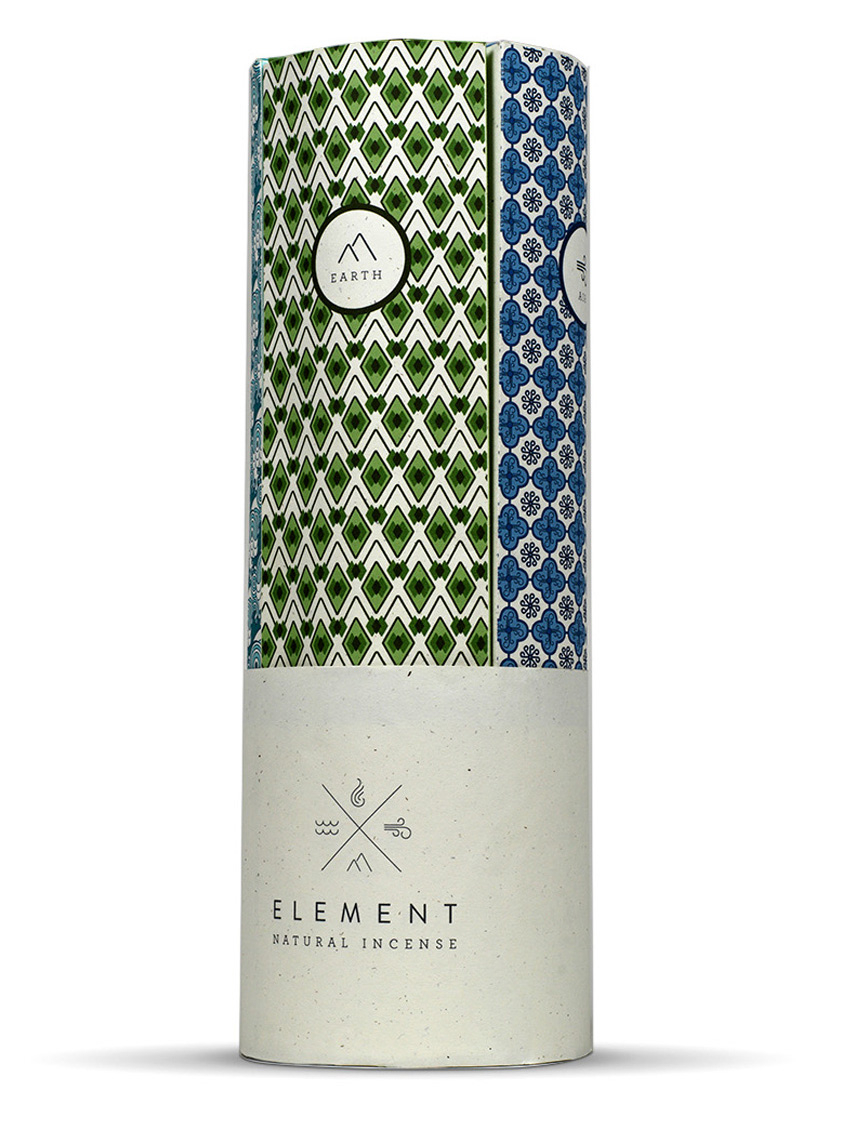 ELEMENT INTERNATIONAL INCENSE  Packaging