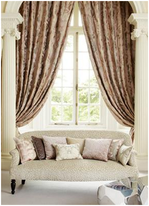 Curtains .                                                               Custom made curtains are our specialty, with over a thousand types of designer fabrics from which to choose. From traditional to contemporary, we are one of the largest stockists of curtain fabrics in Ireland.