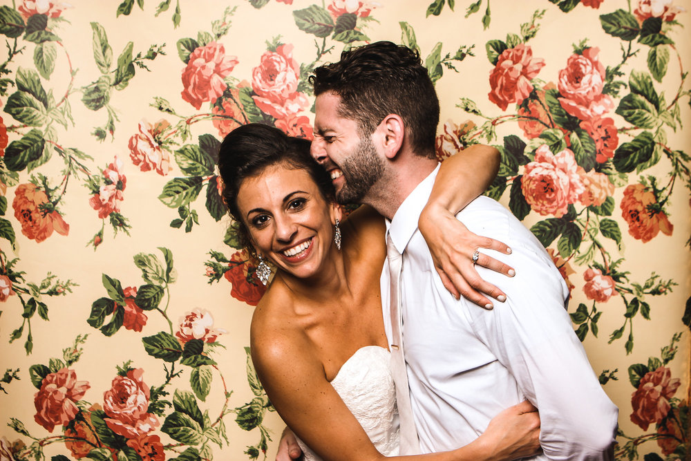 D.I.Y. -We love shooting different backdrops!Find some interesting wallpaper, shower curtain or just a cool wall at the venue and we can make it happen!