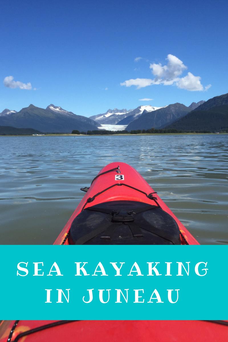 Sea kayaking Juneau