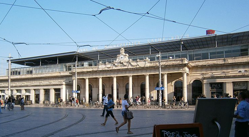 Montpellier train station