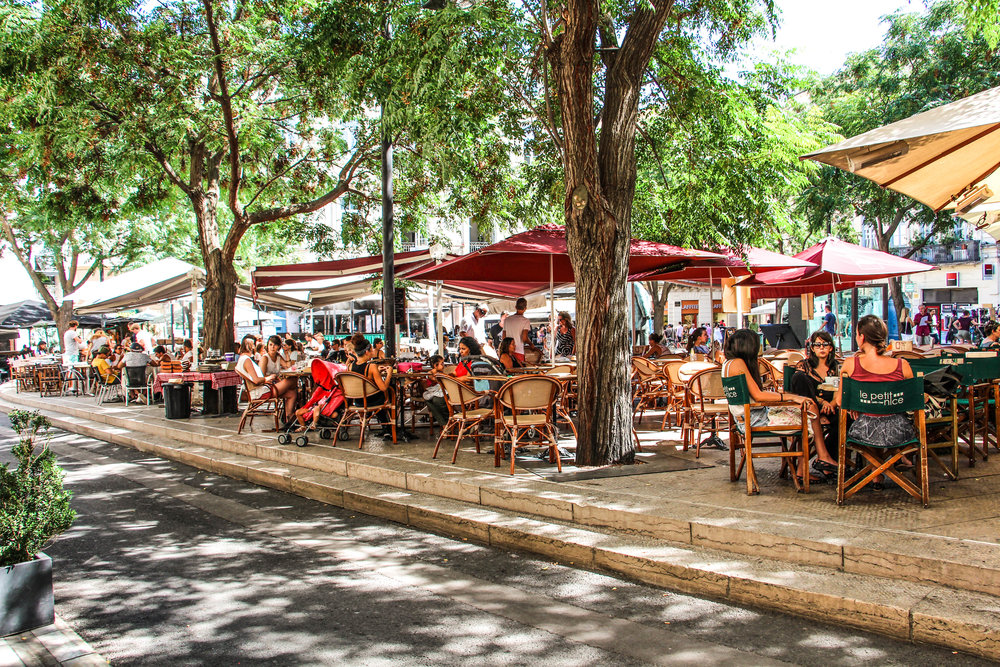 Jaures square bars cafes