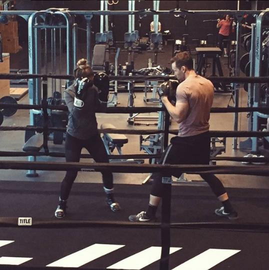 L'entraînement personnel fait également partie des services offerts pour la boxe.