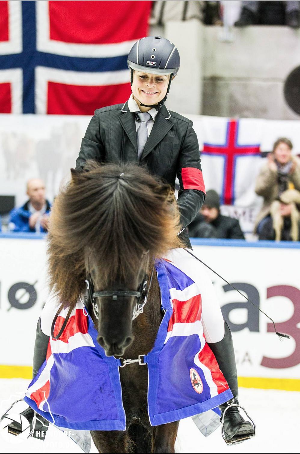 Garpur fra Højgården med Veronika Rauch i sadle vinder ISTØLT 2017