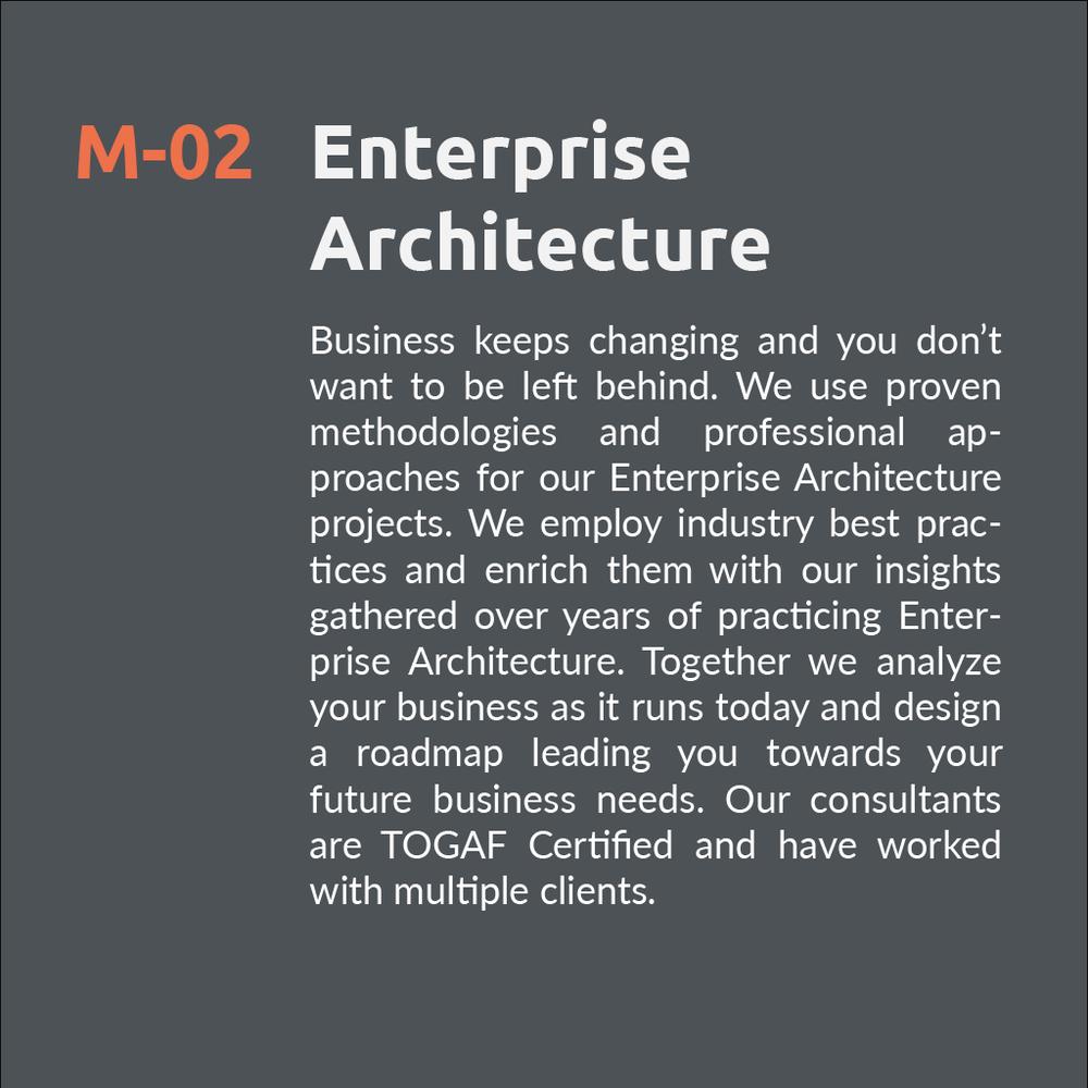 Enterprise Architecure