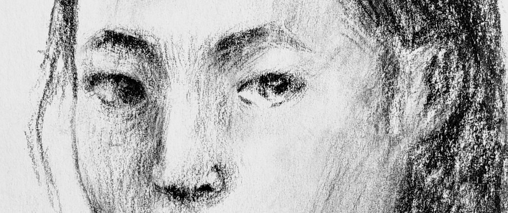 Close Up of Artist's Self Portrait at Age 16