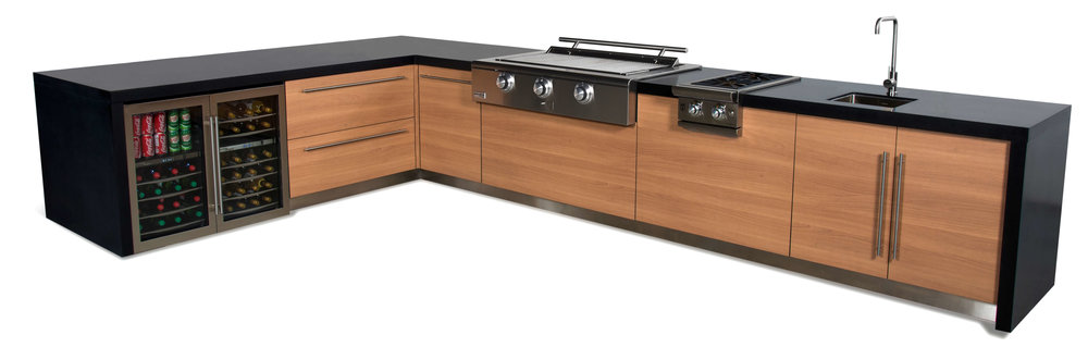 Outdoor Kitchens By Garden Living Outdoor Kitchens Fusion