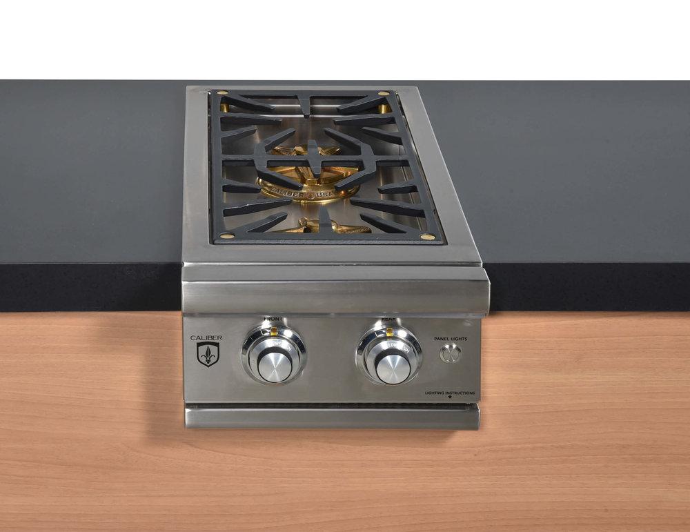 Built in side burner grills