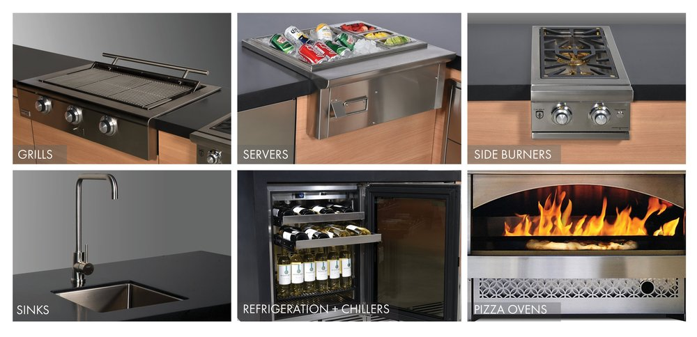 outdoor kitchen equipment cooktop outfit your garden living kitchen from an extensive range of topquality equipment side burners to pizza ovens well design and build the outdoor kitchens by equipment