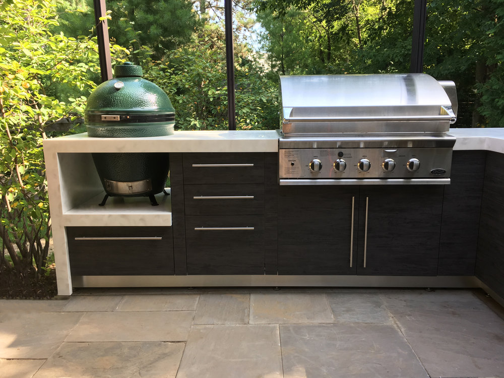 The Smokers Corner | Outdoor Kitchen
