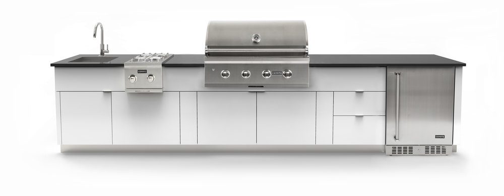 The Garden Living 12 Series Outdoor Kitchen