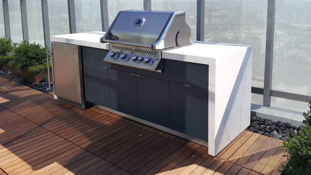 Rooftop Terrace | Outdoor Kitchen