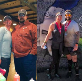 Joe Ervin, a Macroholic who has lost over 100 pounds on his journey expresses gratitude regularly for his wife, his friends, and his health.