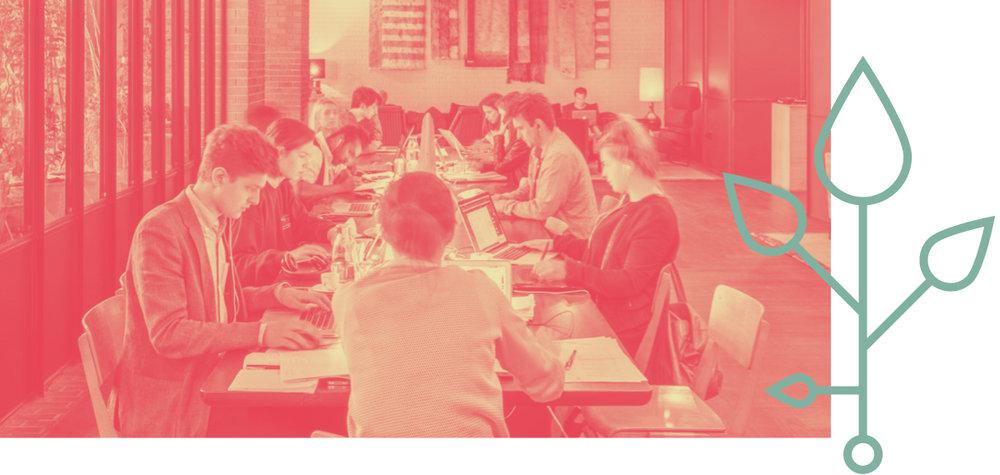 Coworking zum Quadrat - Networking und Geschäftskontakte inklusive