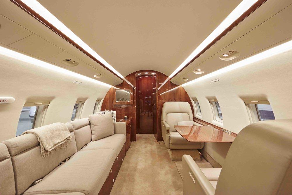 2005 Challenger 604 For Sale Interior 5