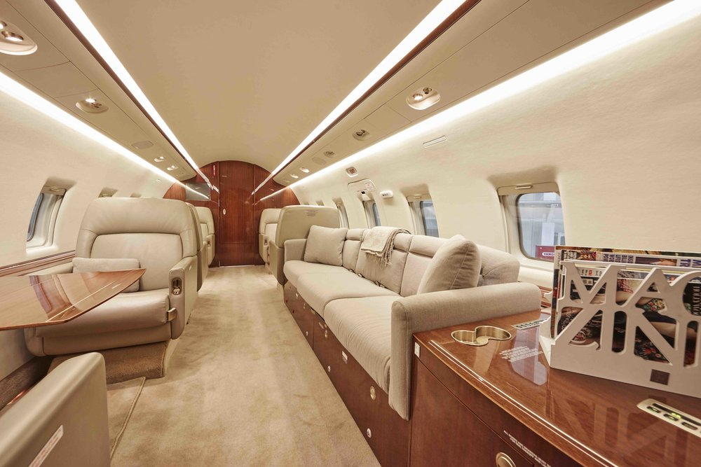 2005 Challenger 604 For Sale Interior 10