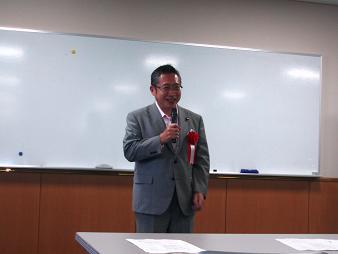 衆議院議員渡辺先生のご講演
