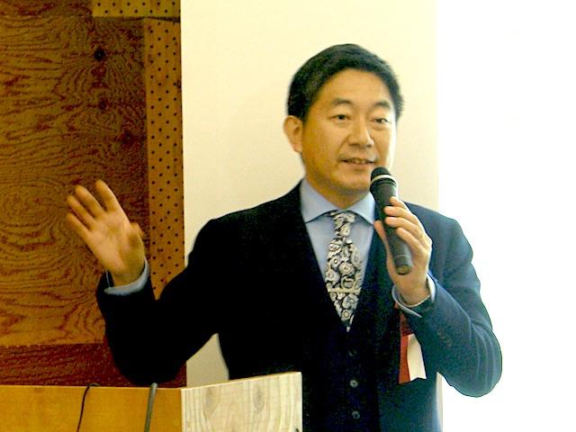 シェア・ブレイン・ビジネス・スクール中山先生のご講演