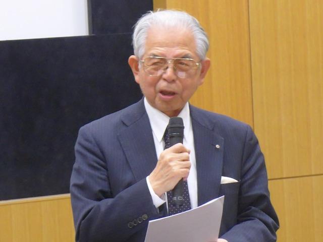 矢野副理事長ご挨拶