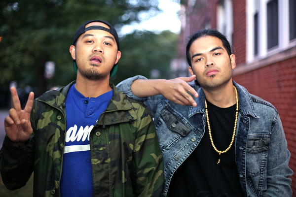 The Whoevers ( pictured left to right :Je$$e ,Lloyd Dotdot)
