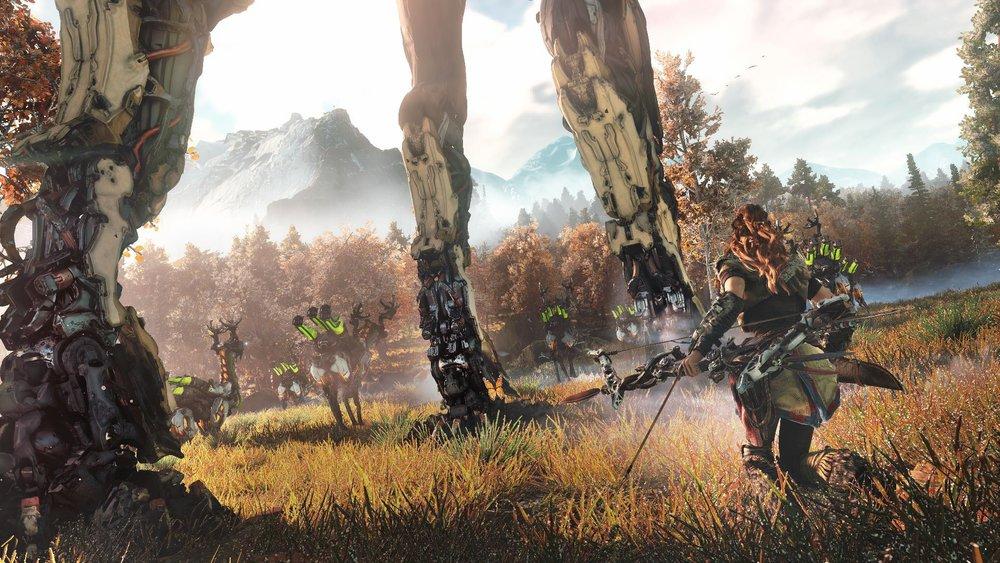 guerilla games presents: horizon zero dawn