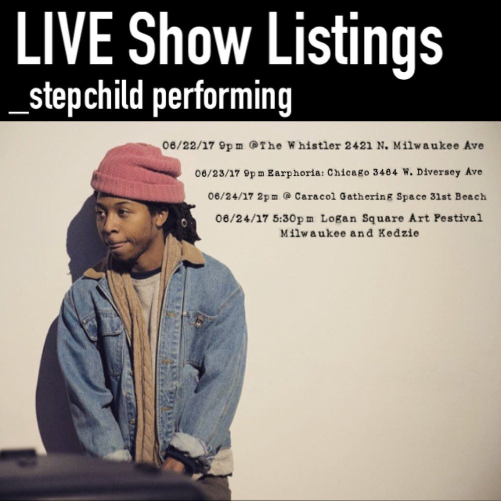_stepchild's list of shows this month!