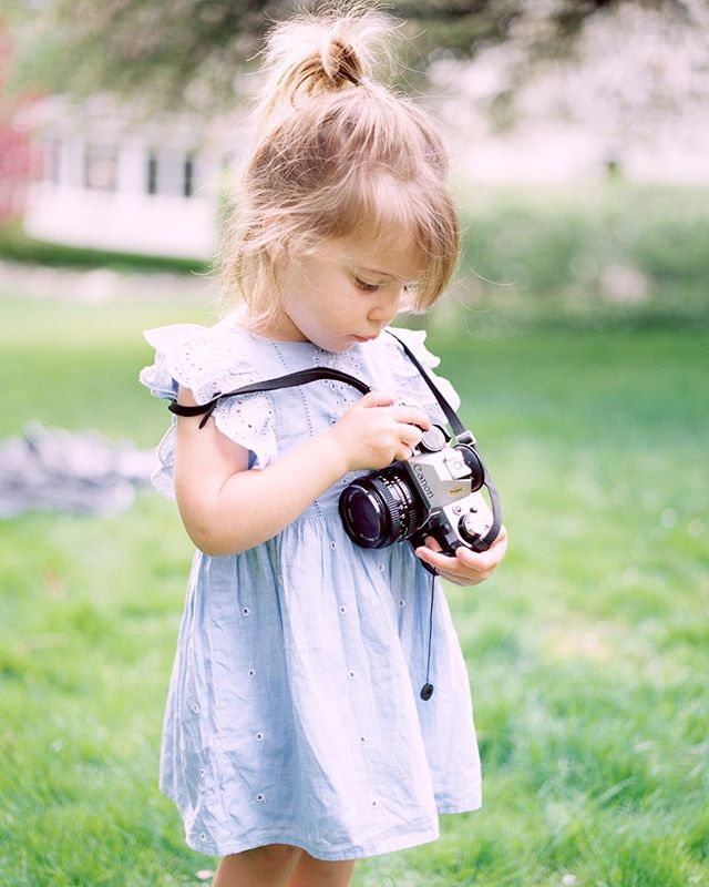 My little assistant learning film ✨#fuji400h