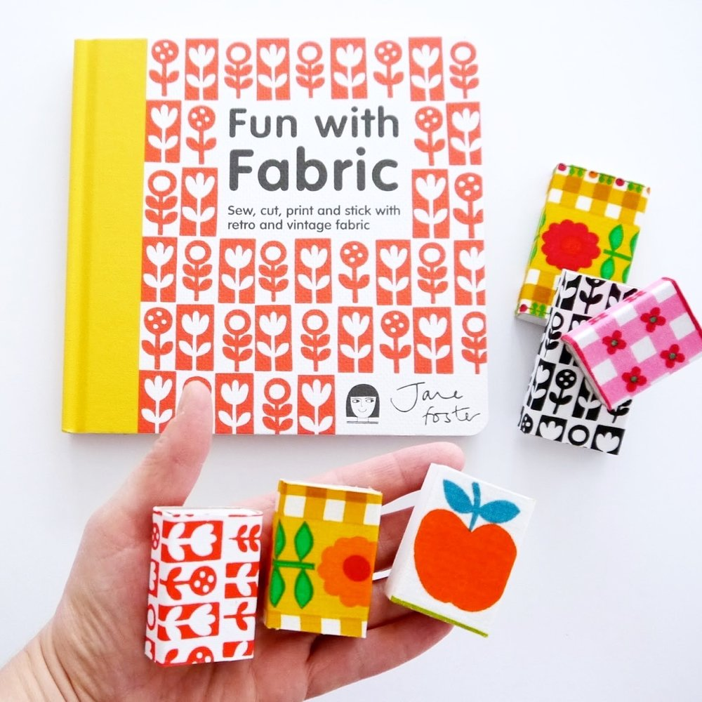 My first book Fun With Fabric published by Pavilion (Anova Books)