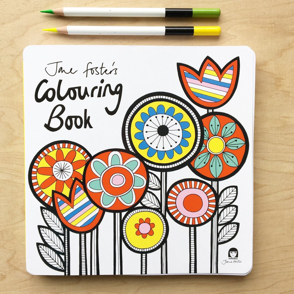 My colouring book published by Pavilon