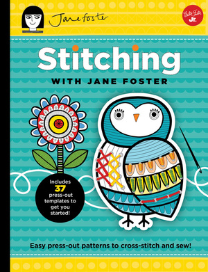 Stitching with Jane Foster by Quarto Creates