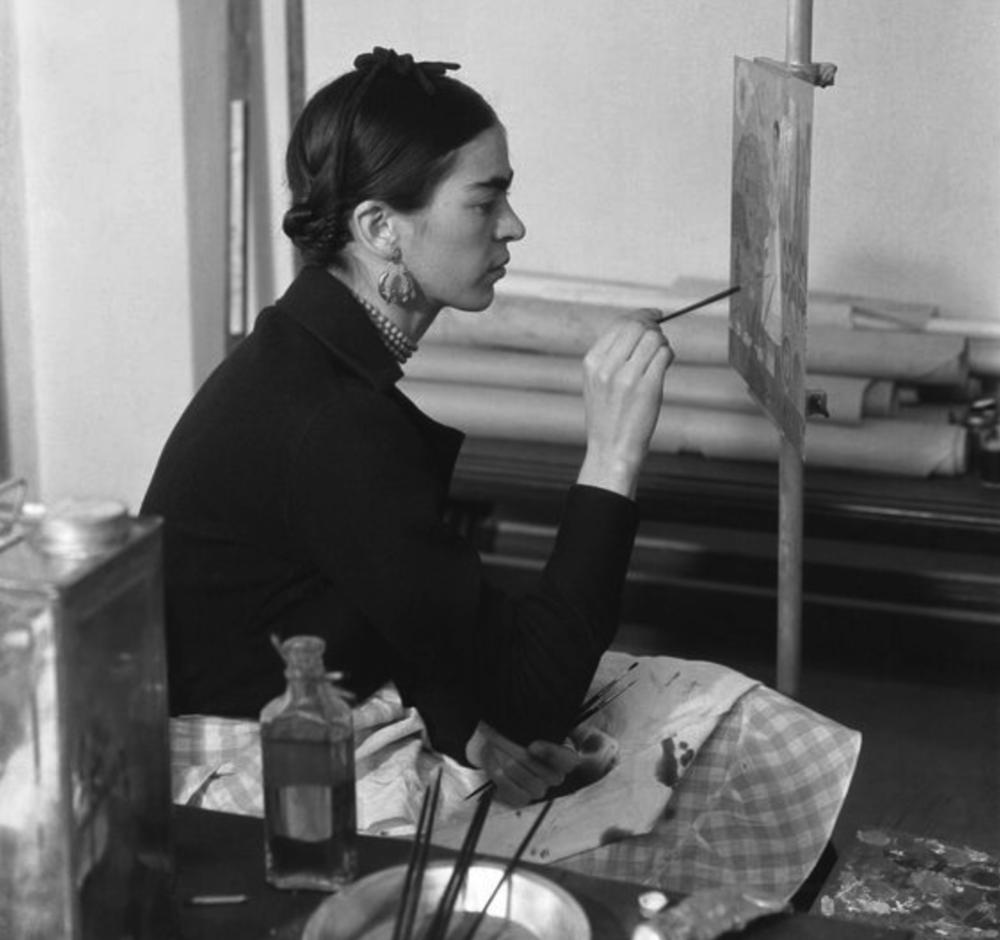 Frida painting