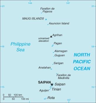 The Northern Mariana Islands