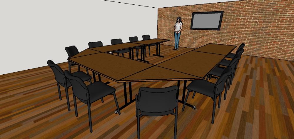 U-Shape classroom