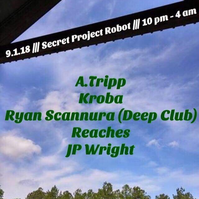 Tonight in the bar!!! @aaaaaaaaarontripp Kroba @ryan_deepclub  and b2b set by @reachesreaches and @___what.jp
