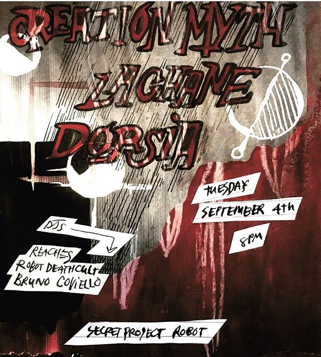 Tonight in the gallery at Secret Project Robot!!!! 👻👻#goth👻👻