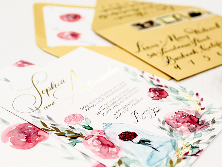 Invitations done beautifully. FaithIntoArt specializes in luxe invitation suites for your perfect day. From sketch to final production, FaithIntoArt creates the calligraphy, illustrations, and design just for you.
