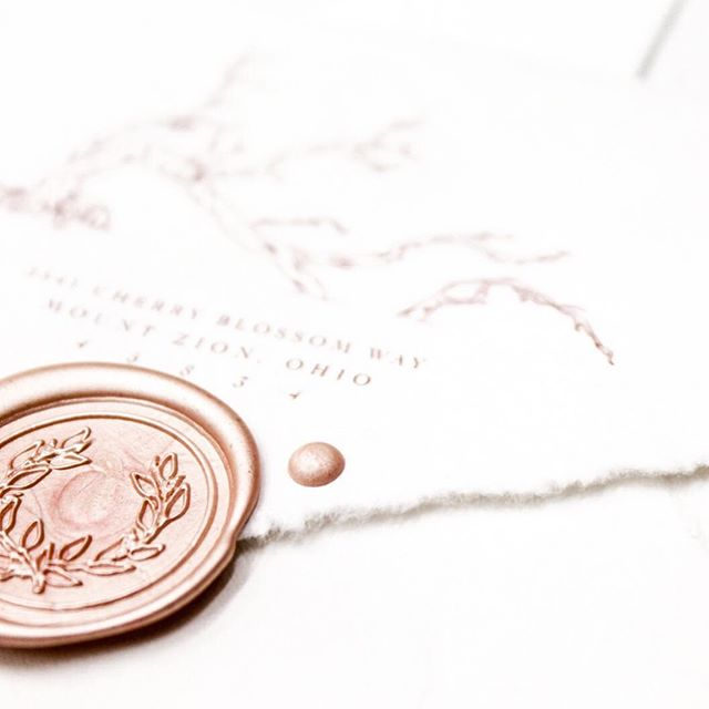 I'm determined to share more wax seals with you guys in 2019. In my best 9 from last year, wax seals and the geek stationery seemed to be the favorites. And what better way to kick that off than with a wax seal on a handmade envelope? I absolutely love @fabulousfancypants paper, but her envelopes are divine too. Best part? They still run through my printer for that crisp return address printing. . Be sure to tune in Tuesday for my first ever live story! I'm going to be going live to celebrate my semi-custom collections launch and will be going over the different options and designs that will be available. Mark your calendars- Tuesday at 11 am EST. . #faithintoart #stationery #invitationsuite  #invitations #invitationsuite #weddinginvitations #weddingpaper #dailydoseofpaper #paperlove #luxestationery #bespokestationery #waxseals #modernwaxseals #waxseal #wax #waxstamp #nomoreboringenvelopes #envelopeart #envelopeaddressing #envelopedesign #weddingenvelope #fabulousfancypants #wedding #weddinginspiration #weddingideas #bridetobe #misstomrs #futurebride #justengaged #prettyinpink