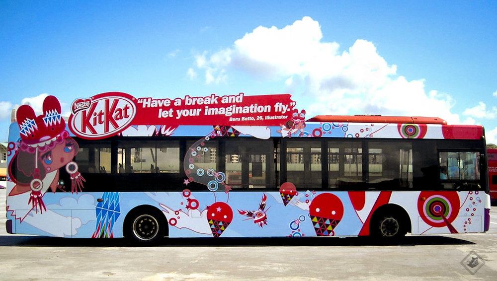 "Kit Kat ""Yer Big Break"" campaign"
