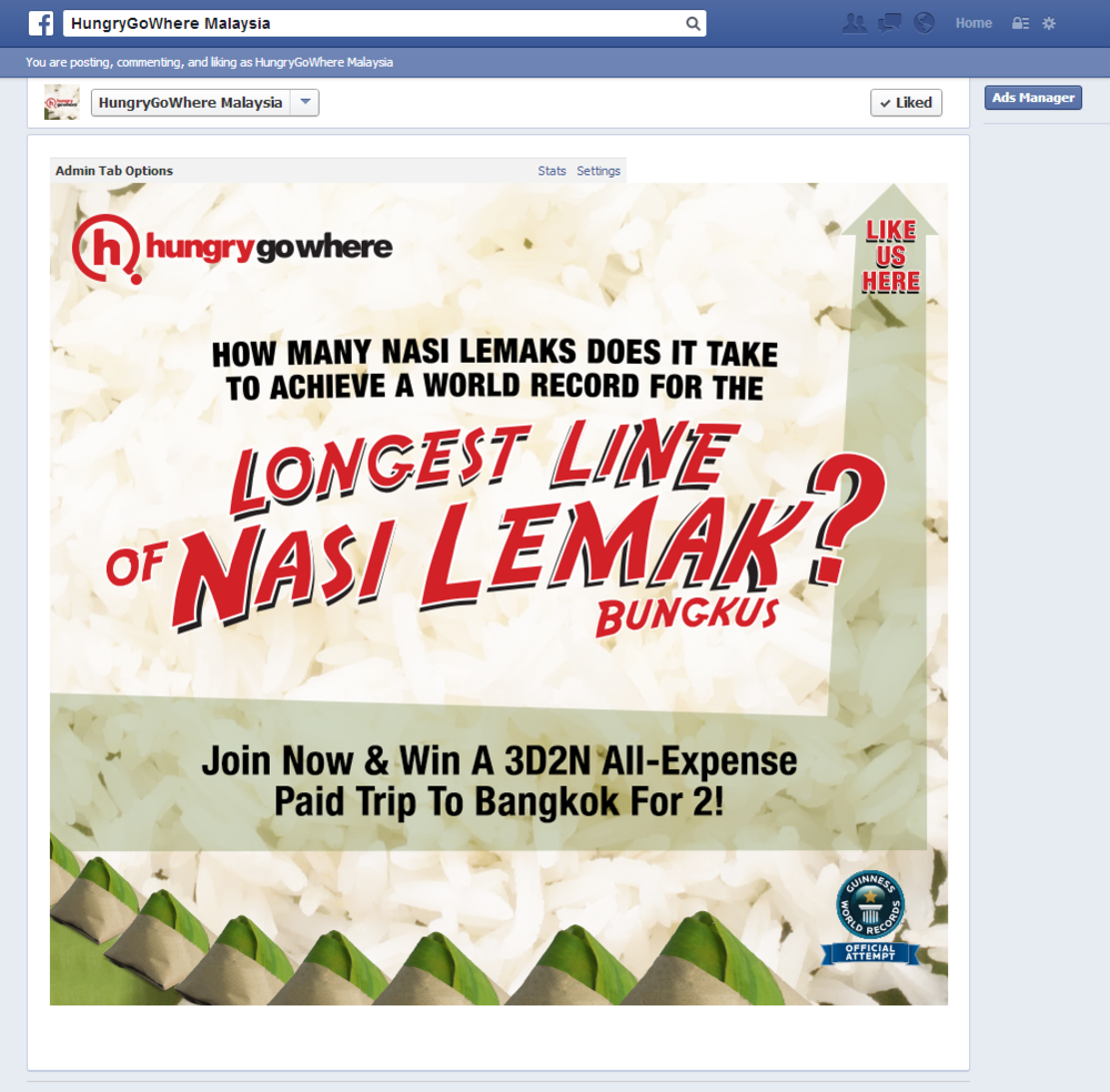Hungrygowhere KL Online campaign