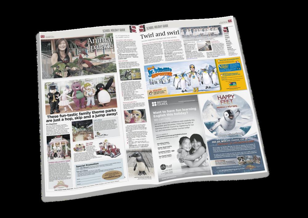 "Jurong Bird Park ""Be A Jr. Wildlife Reporter"" Campaign"