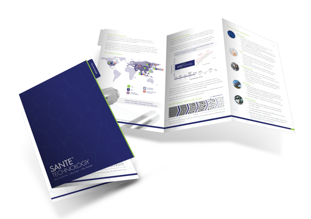 Cima NanoTech Branding and Sales Kit
