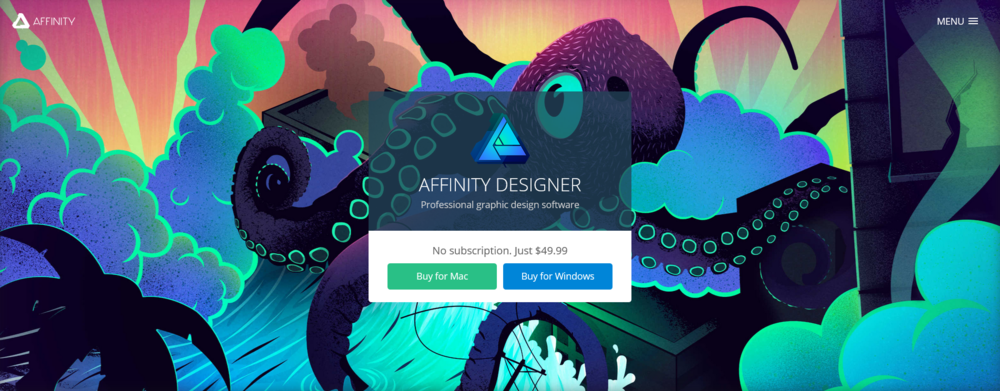 Click here to check out Affinity Designer!