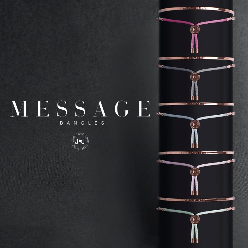 Katie Loxton- Message Bangles