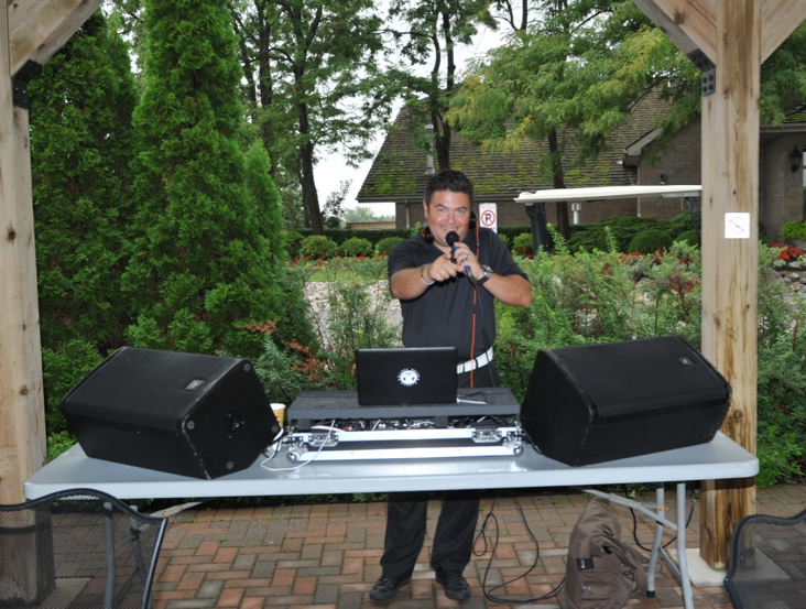 DJ, Patrick Wasiuk keeps us rocking through lunch