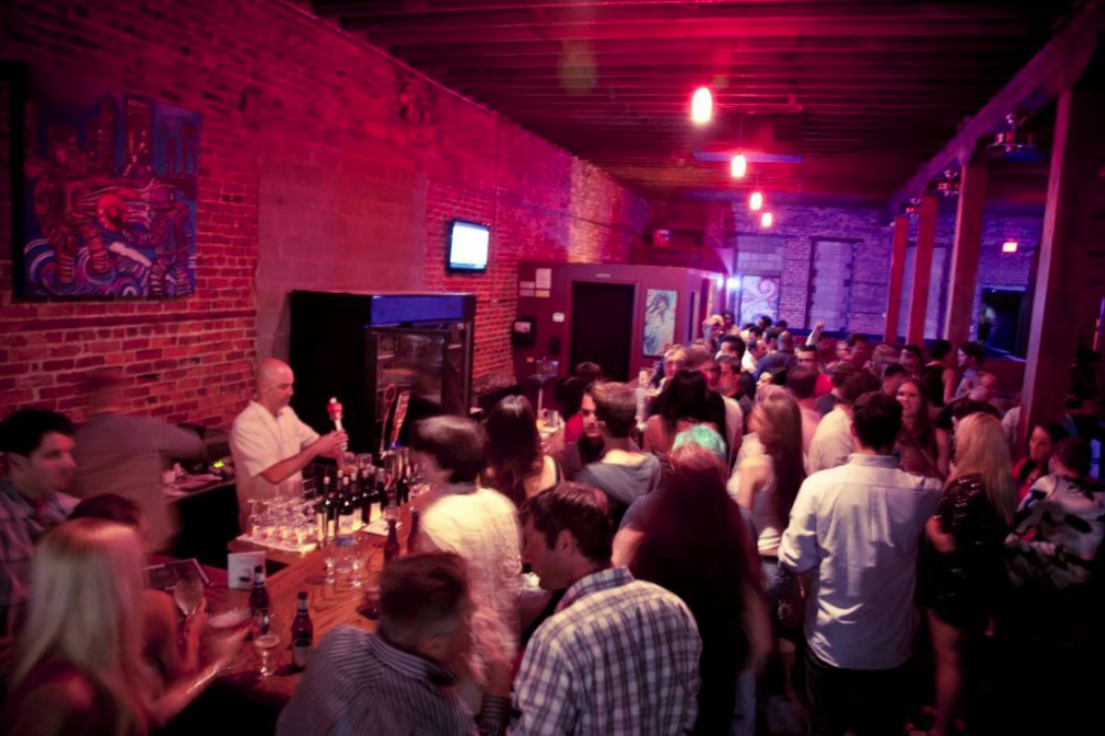 "1904 Music Hall - Music venue in downtown Jacksonville in the ""Elbow"" area of downtown. Shares a backyard with their counterpart restaurant ""Spliffs"".Address : 19 N Ocean St.Phone : 904-345-5760Email : booking@1904musichall.comWebsite : https://www.1904MusicHall.com"