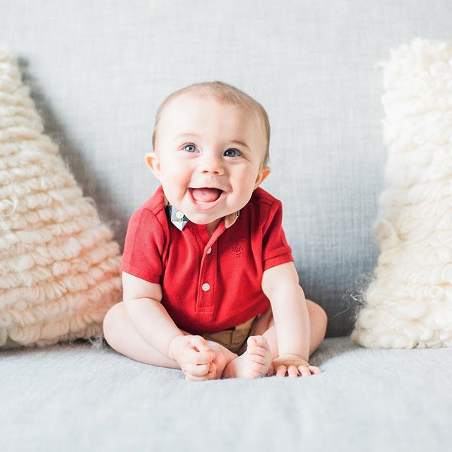 All smiles on this happy boy! 😍 #eviangranitzphotography