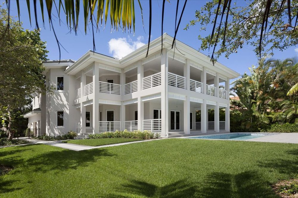 600 Seasage Dr. | Delray Beach, FL  4 Beds | 4.5 Baths | 6,598 SF  Architect | Richard Jones   View Project